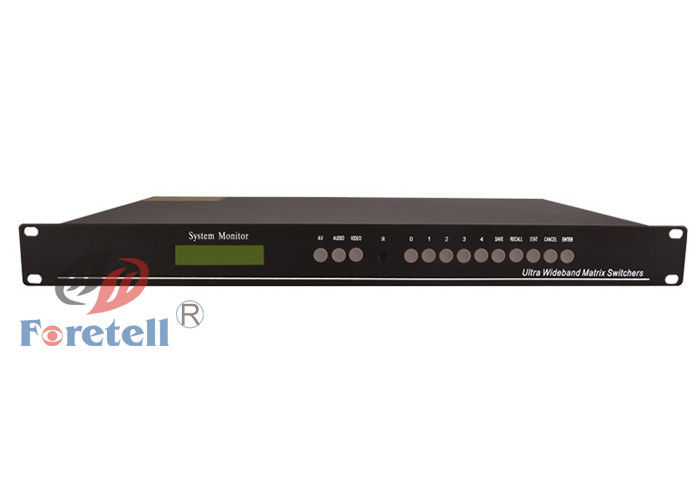 Full HD 3D 1080P 4x4 Video Wall Controller For Digital Entertainment Center