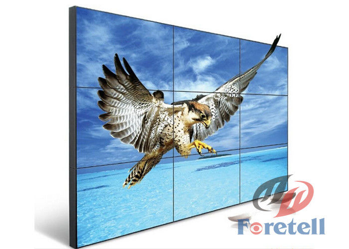 Widescreen Monitors LCD Video Wall System In Shopping Centers Cabinet Installation