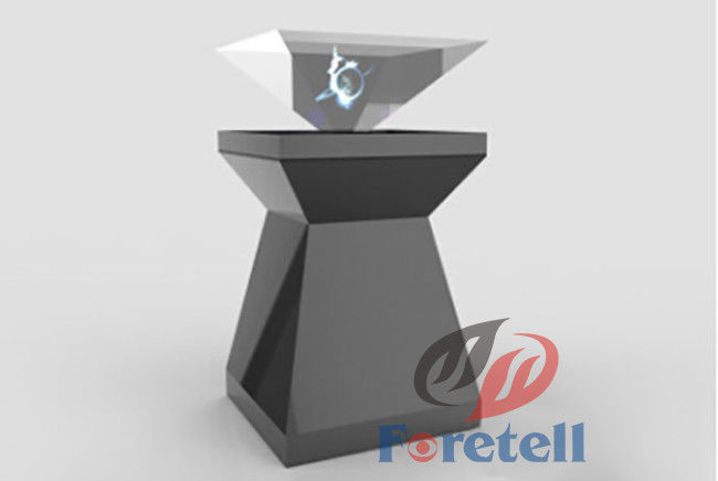 47 Inch Custom Sheet Metal 3D Hologram Showcase , Holographic 3d Display Multi Language