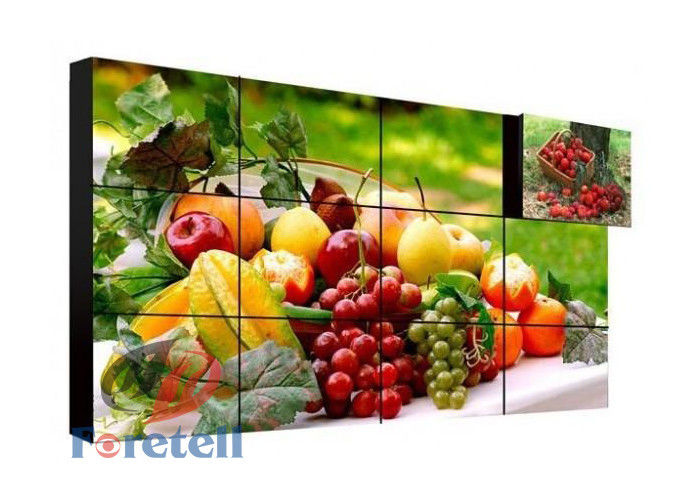 Built - In 3D Noise Reduction 4K Video Wall Vertical Video Wall FHD 3840 * 2160 LCD Screen