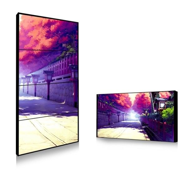 Sun Readable Outdoor Thin Bezel Lcd Video Wall Hire Solution 450cd 750cd Brightness