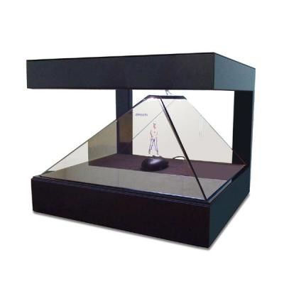 360 Degree 3d Holographic Display Box Advertising Pyramids 5ms Response Time