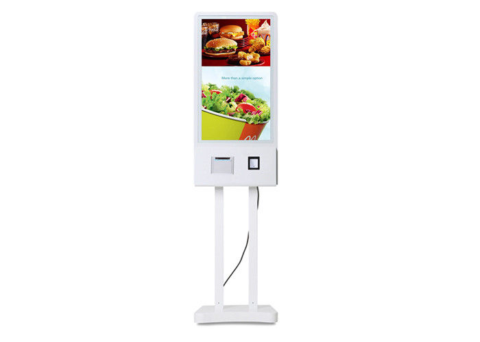 Self Service Restaurant Interactive touch display Fast Food Ordering Kiosk